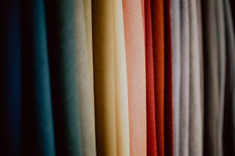 stock permanente de telas