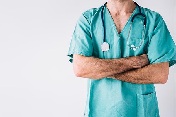 uniforme salud médico